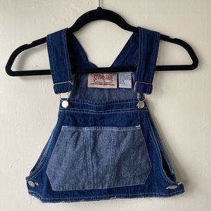 Tops - Vintage Cropped Overall Top
